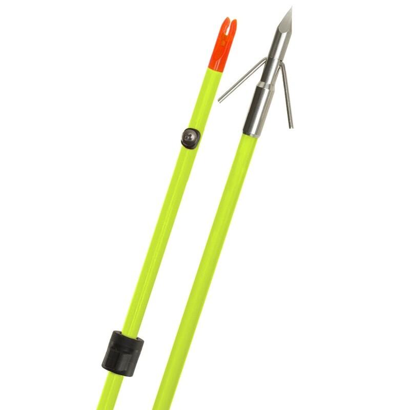 Fin Finder Raider Pro Arrow Flo Green W/ Riptide Point