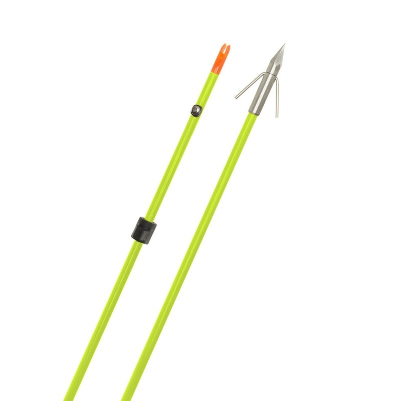 Fin Finder Raider Pro Arrow Flo Green W/ Bighead Point