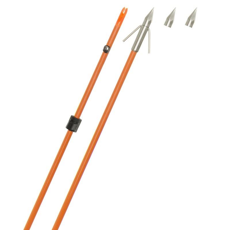 Fin Finder Raider Pro Arrow Orange W/big Head Point