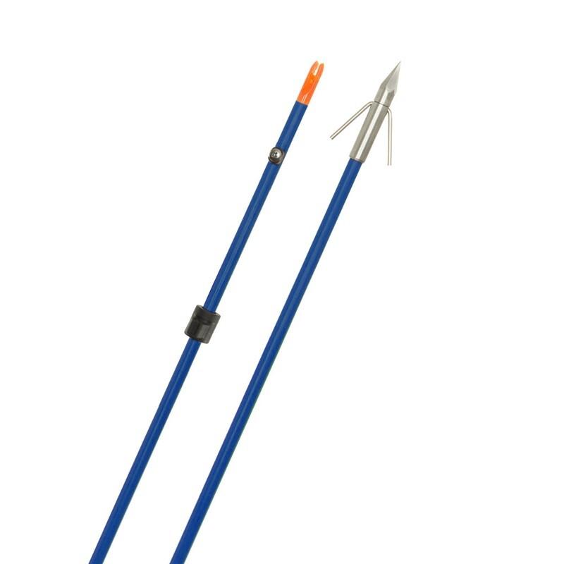 Fin Finder Raider Pro Arrow Blue W/ Bighead Point