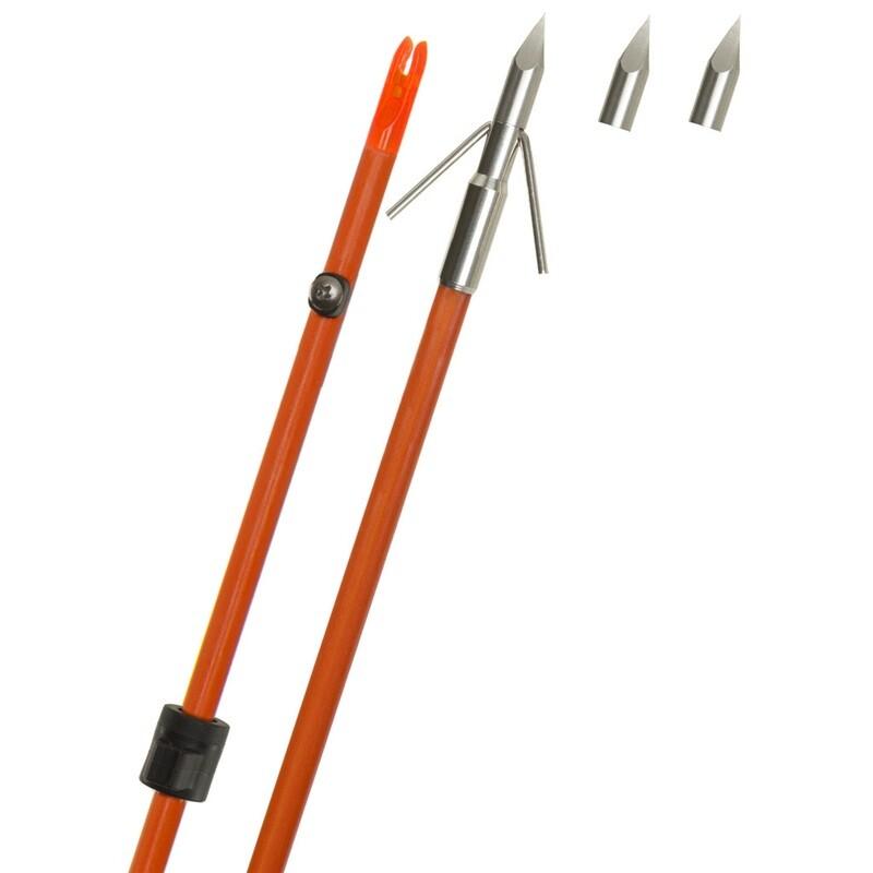 Fin Finder Raider Pro Arrow Orange W/riptide Point