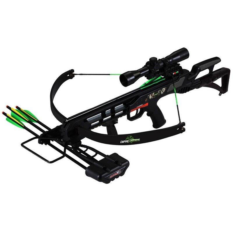 Sa Sports Empire Terminator Recon Crossbow Package Black