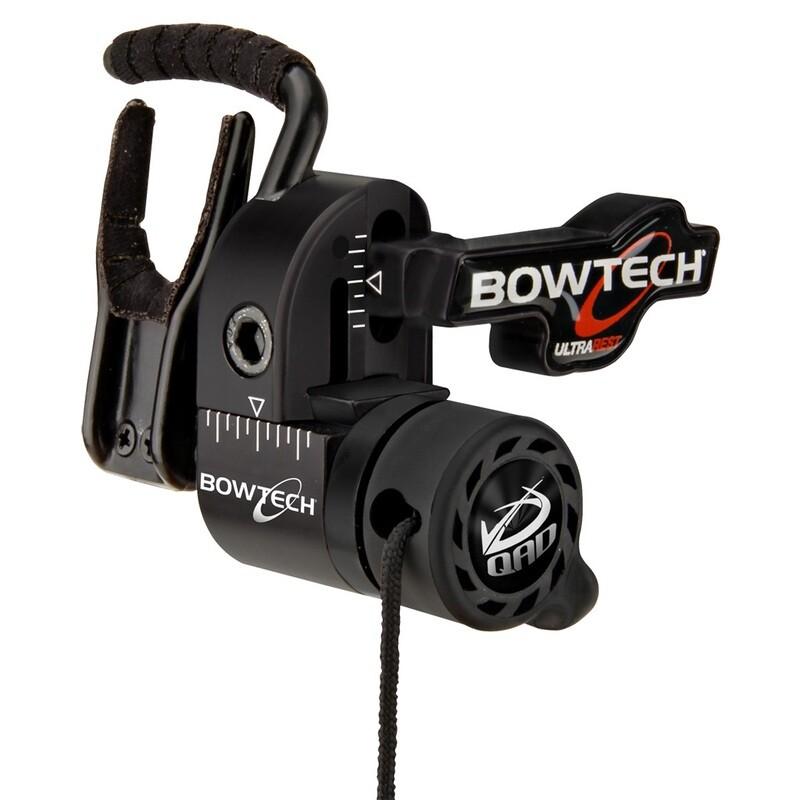 Qad Ultrarest Hdx Bowtech Black Rh