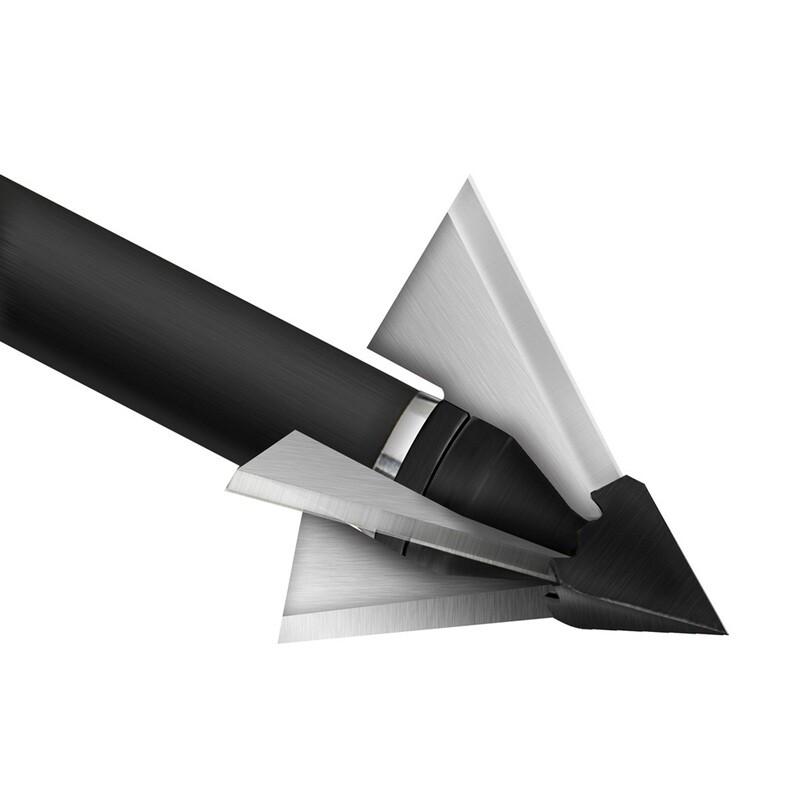 Qad Exodus Broadheads Crossbow Full Blade 125 Gr. 3 Pk