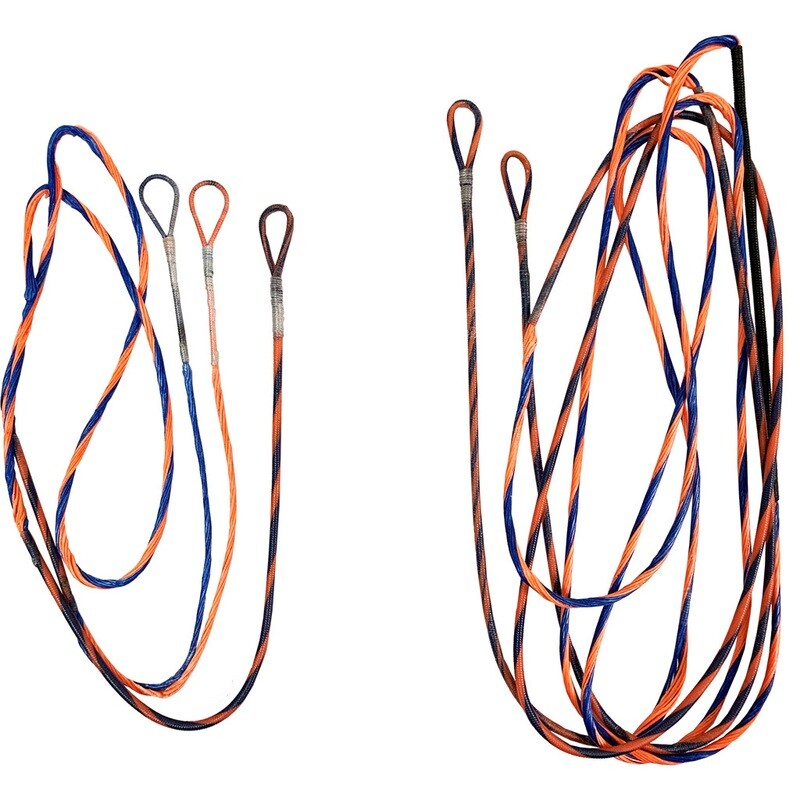 Firststring Genesis String And Cable Set Blue/ Flo Orange