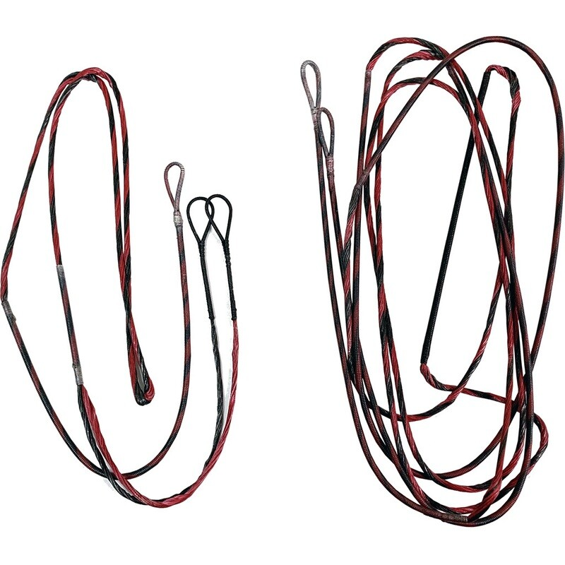 Firststring Genesis String And Cable Set Red/ Black