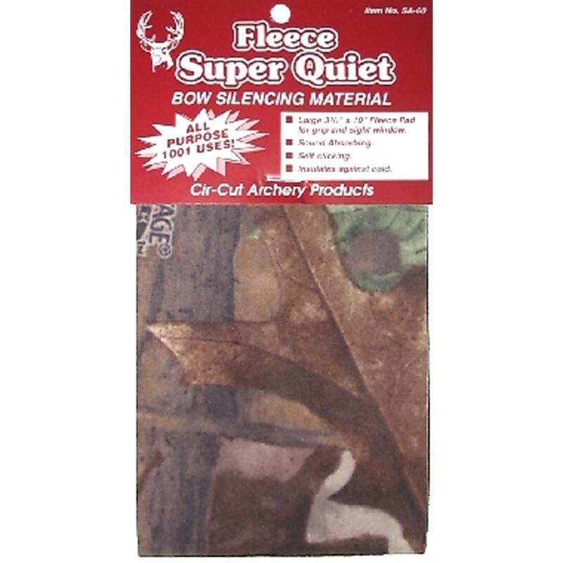 Cir-cut Micro Fleece Silencing Material Camouflage 3.75x10 In