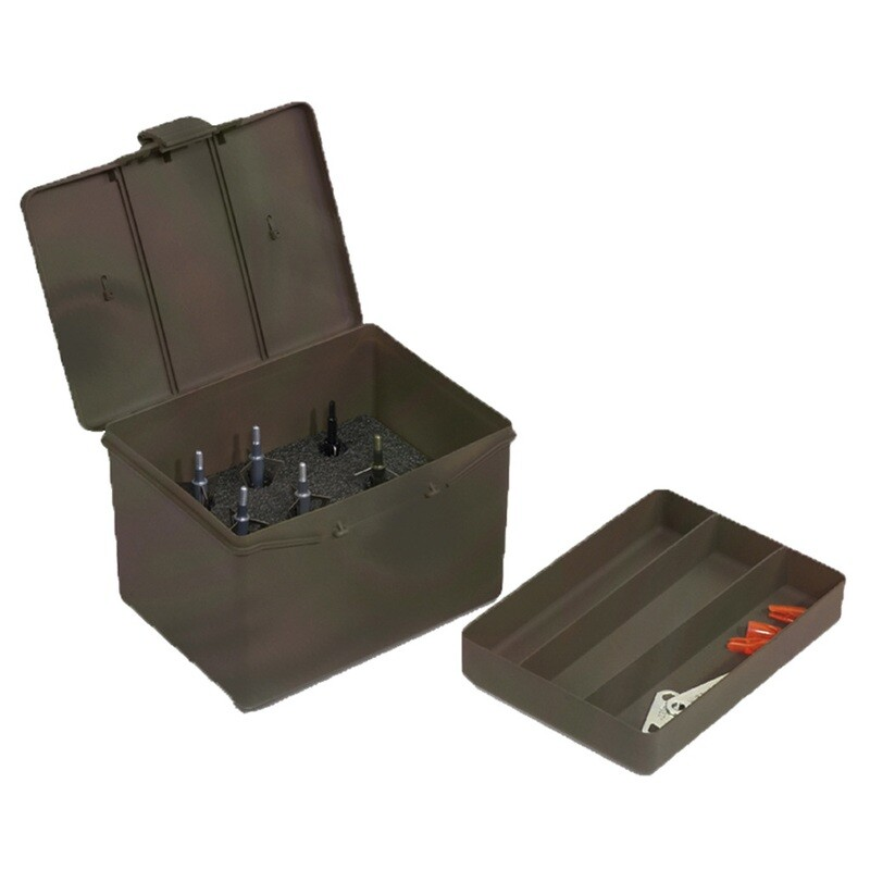 Plano Archery Accessory Box Green Large