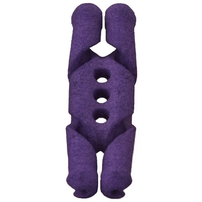 Sawtooth Anchor Knot Purple
