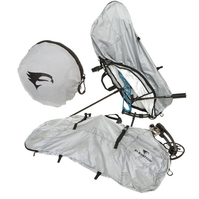 Elevation Packable Bow Cover Grey 39 In.