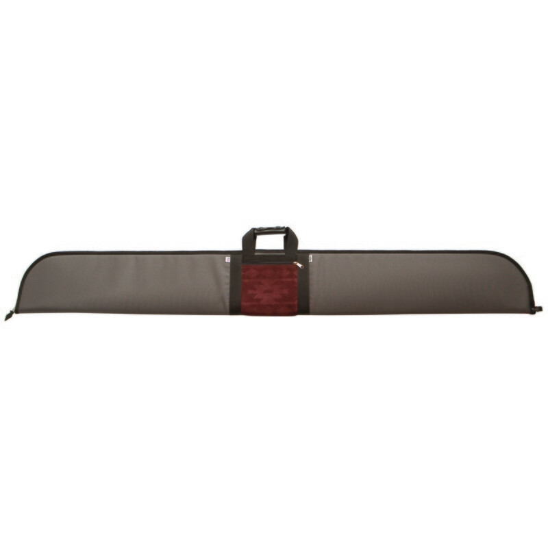 Neet Nk-164 Recurve Bow Case Grey/burgandy 64 In.