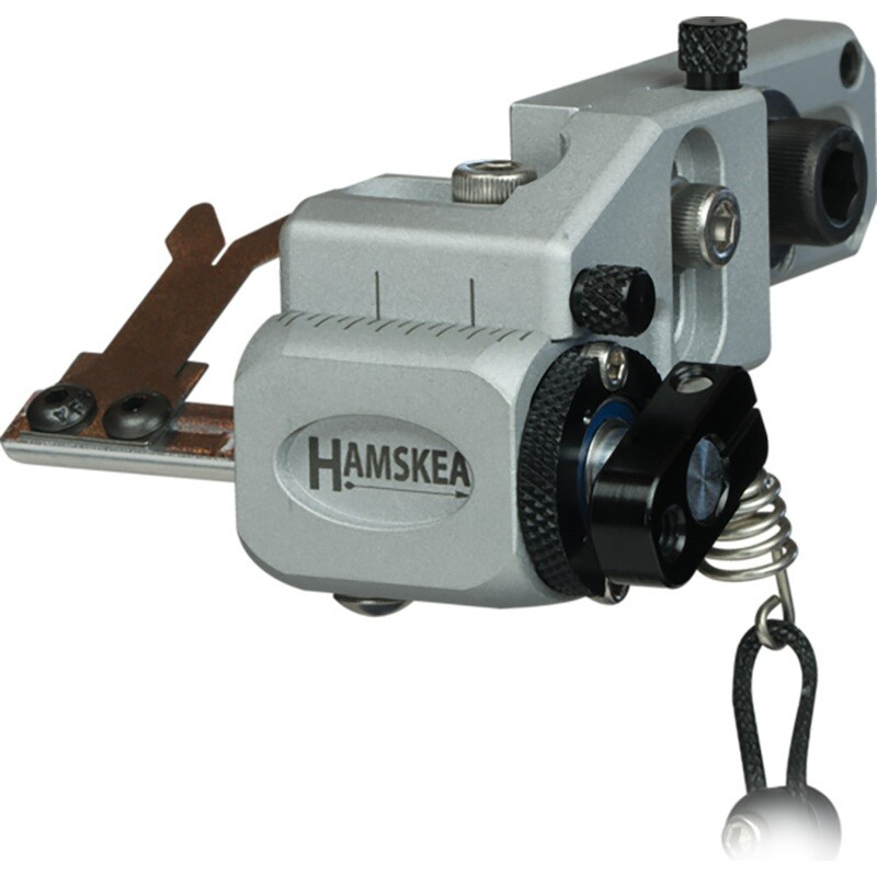 Hamskea Hybrid Target Pro Rest Micro Tune Silver Rh