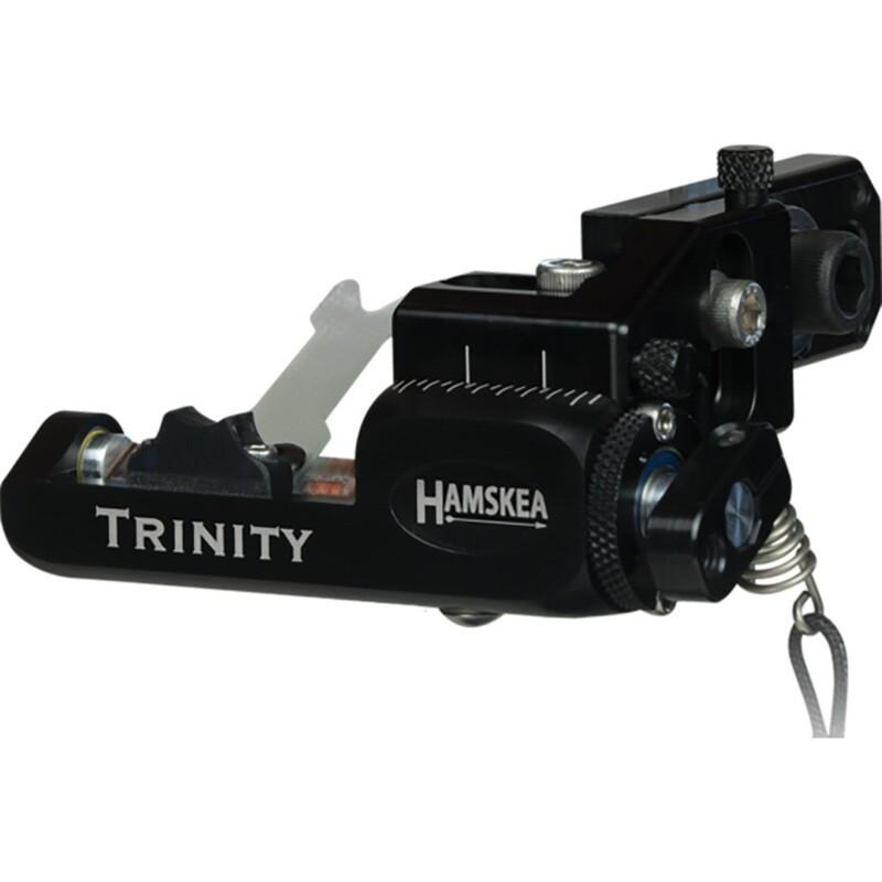 Hamskea Trinity Hunter Rest Micro Tune Black Rh