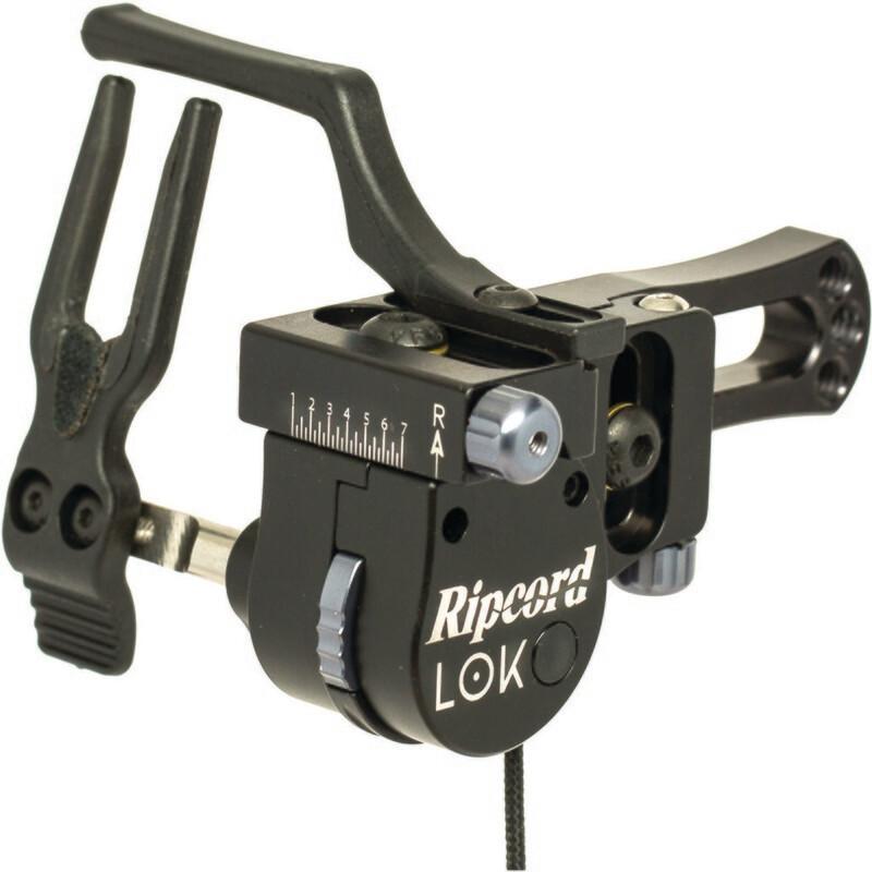 Ripcord Lok Arrow Rest Black Rh