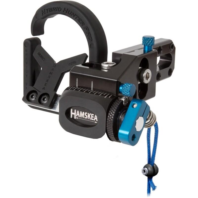 Hamskea Hybrid Hunter Pro Rest Micro Tune Blue Rh