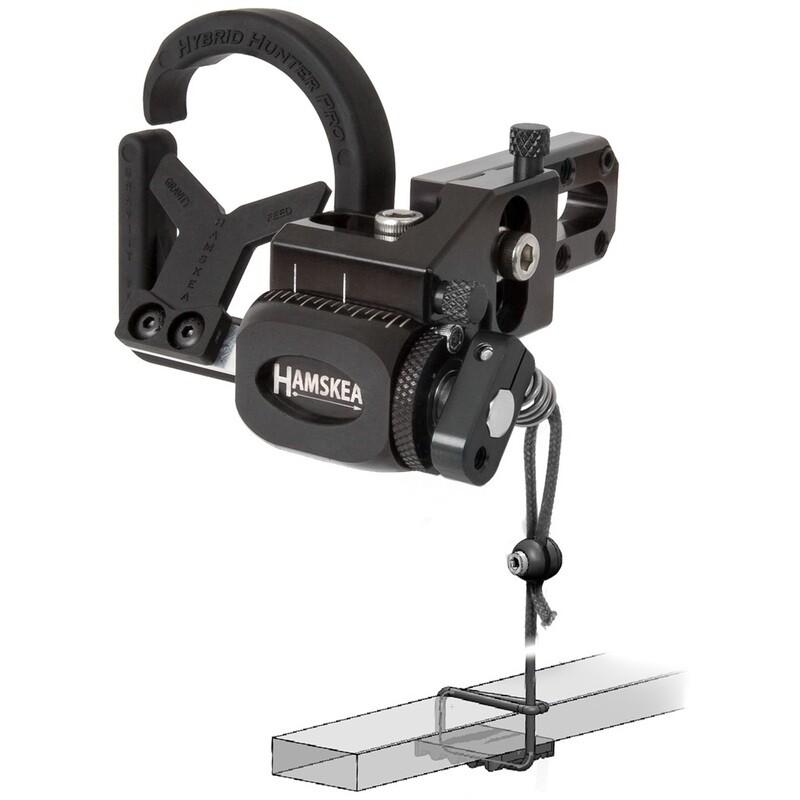 Hamskea Hybrid Hunter Pro Rest Micro Tune Black Rh