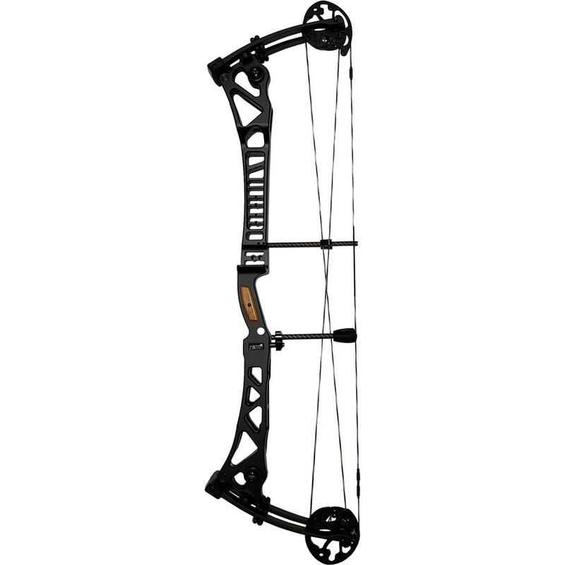 Martin Anax 3d Sd Bow Black Riser/black Limbs 60 Lbs. Rh