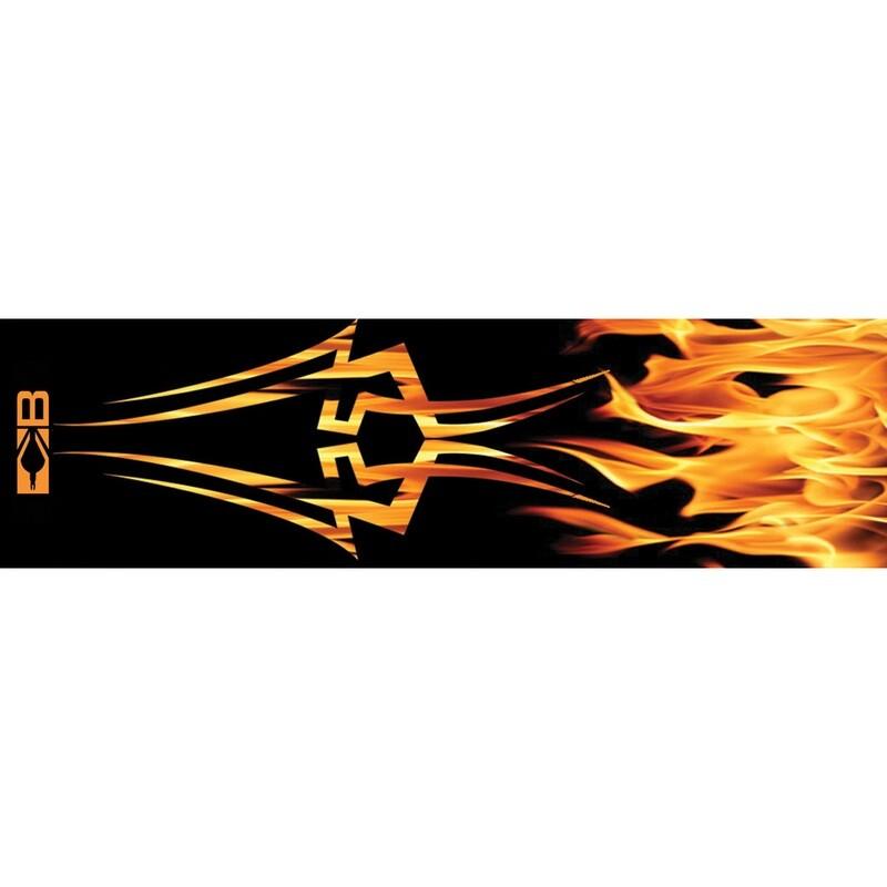 Bohning Arrow Wraps Tribal Flame 7 In. Standard 13 Pk.