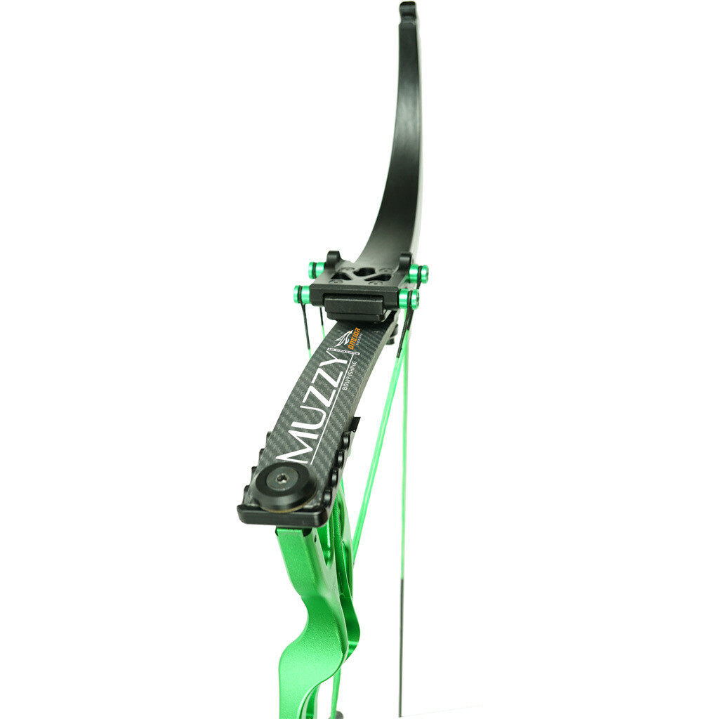 Muzzy Lv-x Bowfishing Bow Green 25-29 In. 25-50 Lbs. Rh