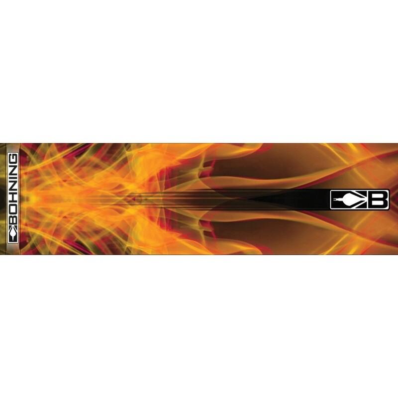 Bohning Arrow Wraps Orange X-ray 7 In. Standard 13 Pk.