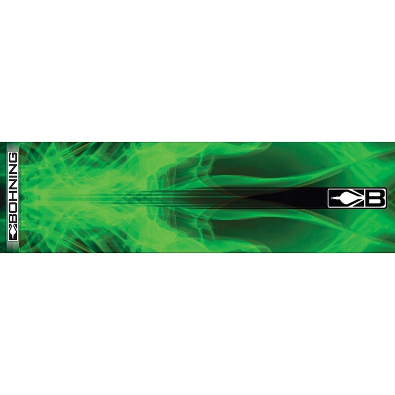 Bohning Arrow Wraps Green X-ray 7 In. Standard 13 Pk.