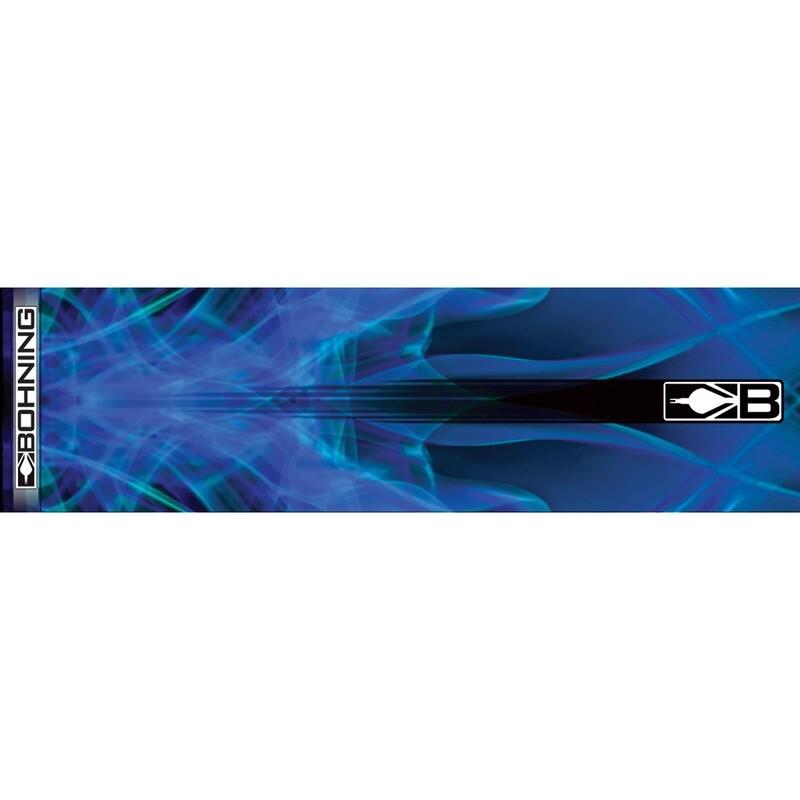 Bohning Arrow Wraps Blue X-ray 7 In. Standard 13 Pk.