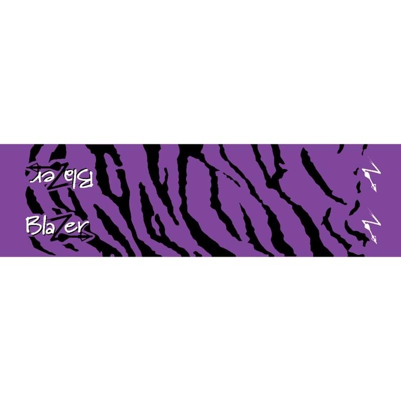 Bohning Arrow Wraps Purple Tiger 7 In. Standard 13 Pk.