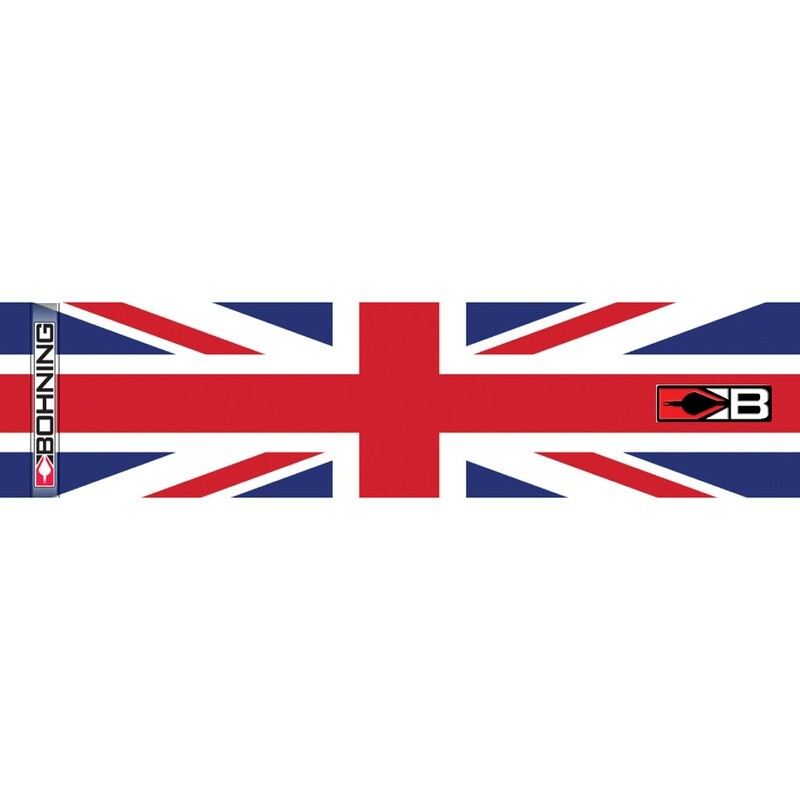Bohning Arrow Wraps United Kingdom Flag 7 In. Standard 13 Pk.
