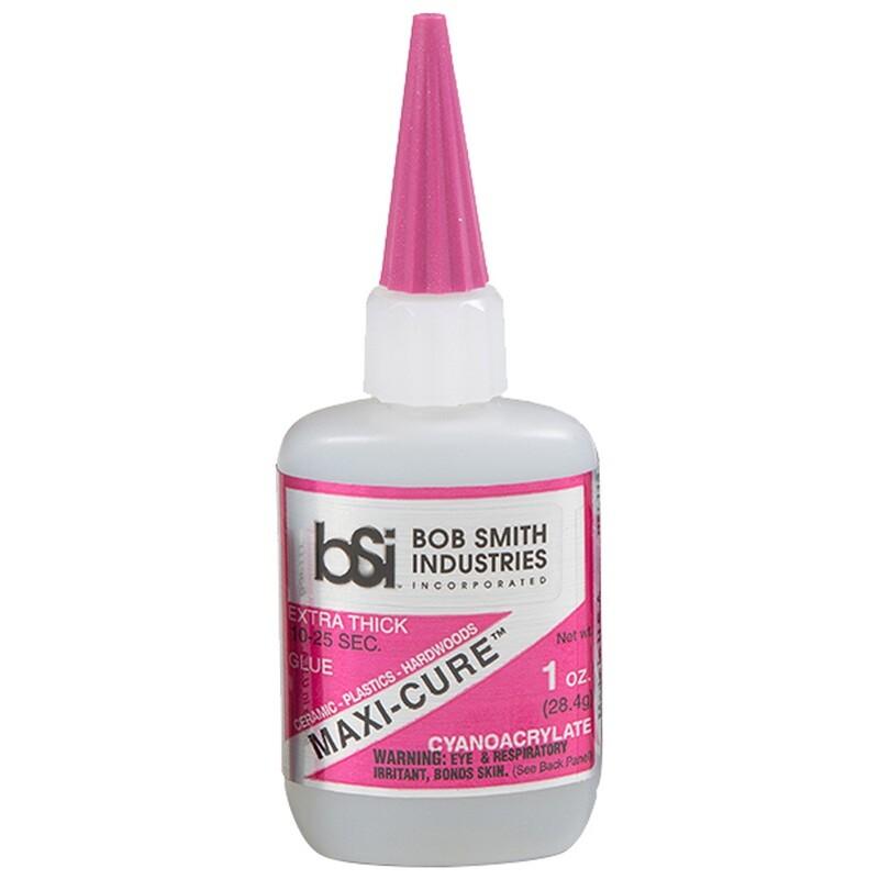Bob Smith Maxi-cure Glue 1 Oz.