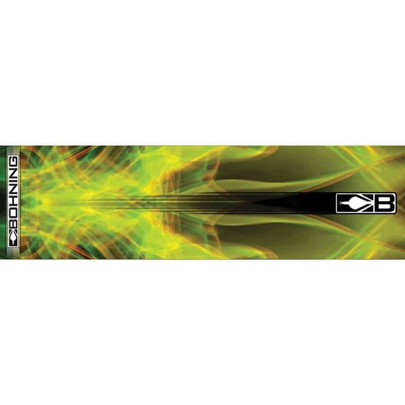 Bohning Arrow Wraps Yellow X-ray 7 In. Standard 13 Pk.