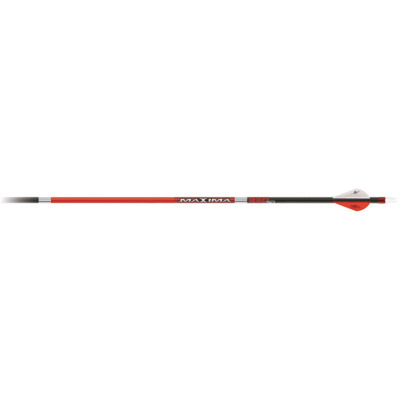 Carbon Express Maxima Red Sd Arrows 250 2 In. Vanes 6 Pk.