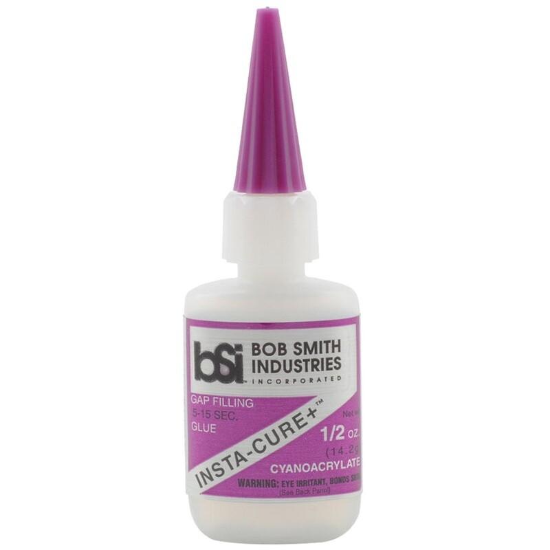 Bob Smith Insta-cure Plus Glue .5 Oz.