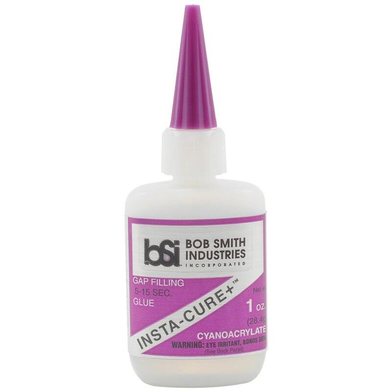 Bob Smith Insta-cure Plus Glue 1 Oz.