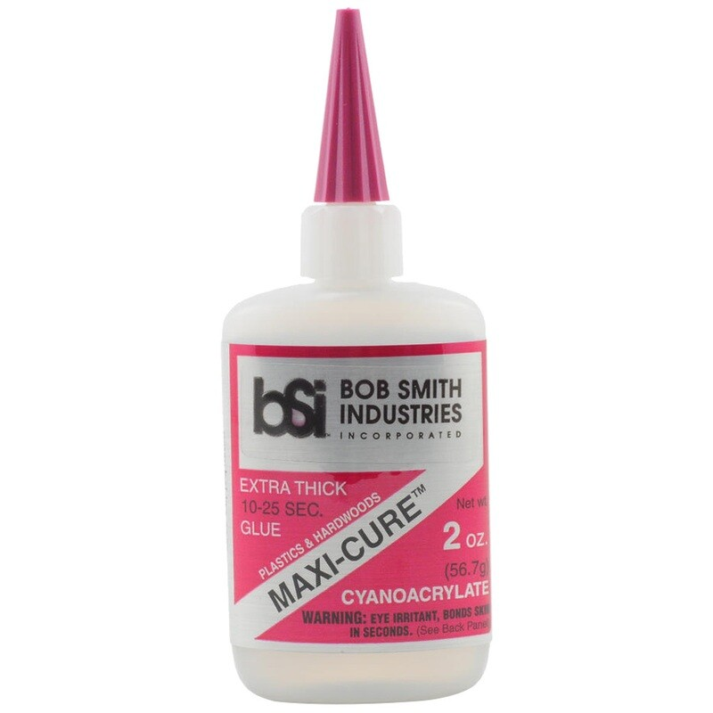 Bob Smith Maxi-cure Glue 2 Oz.