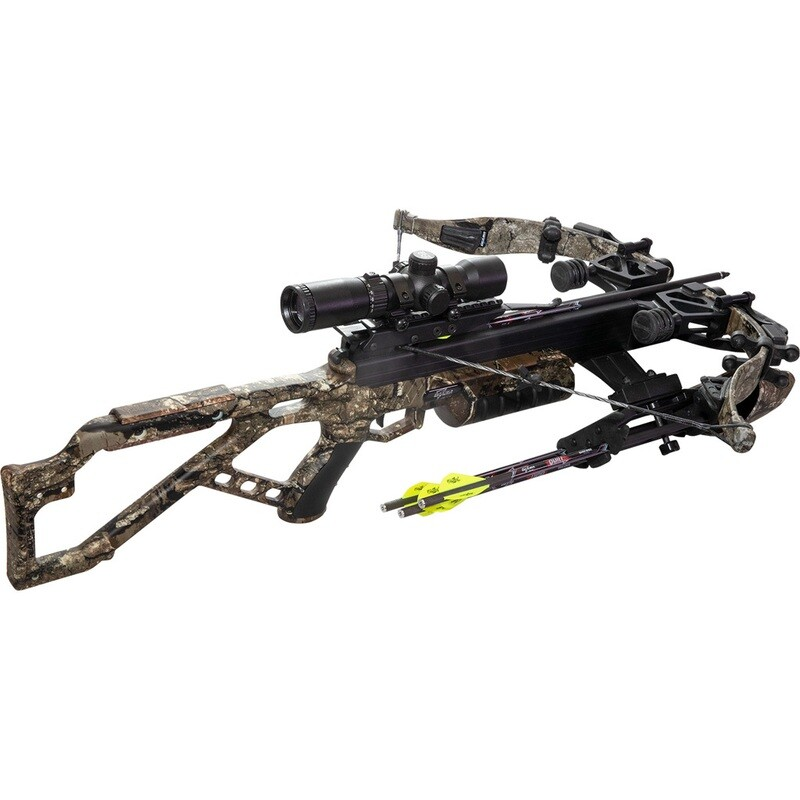 Excalibur Micro 340 Td Realtree Timber W/ Tact 100 Scope