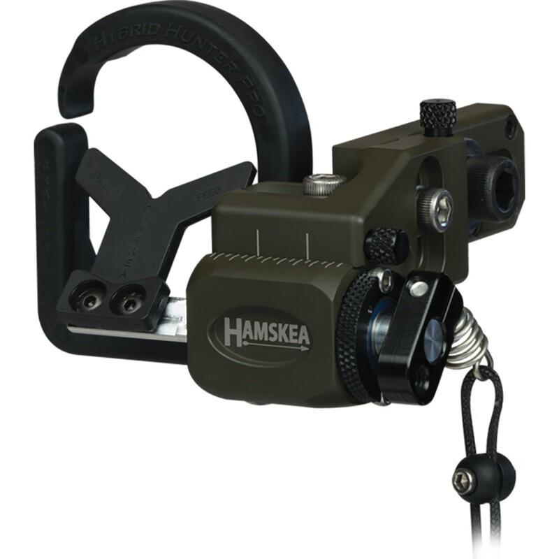 Hamskea Hybrid Hunter Pro Rest Micro Tune Od Green Rh