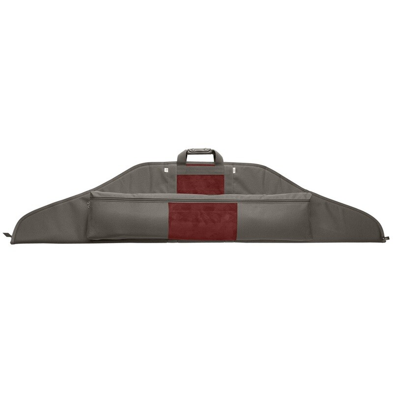 Neet Nk-rc Recurve Bow Case Grey/burgandy 66 In.