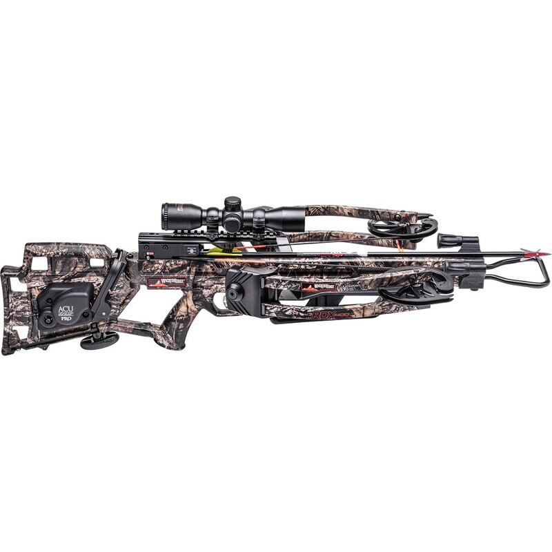 Wicked Ridge Rdx400 Crossbow Package Acudraw Pro, Pro View Scope