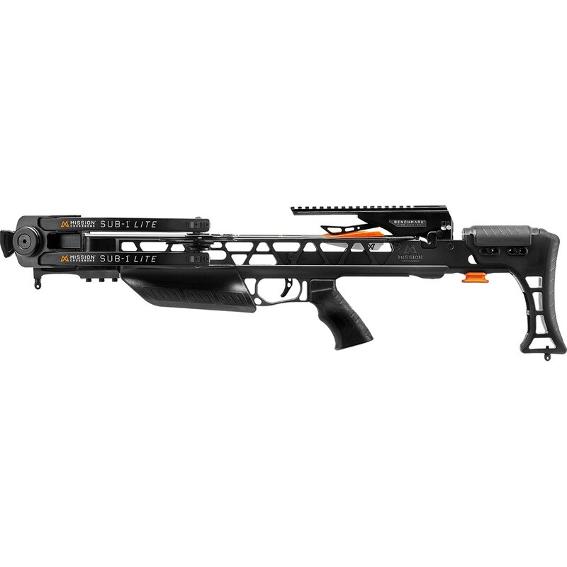 Mission Sub-1 Lite Crossbow Only Black Bow