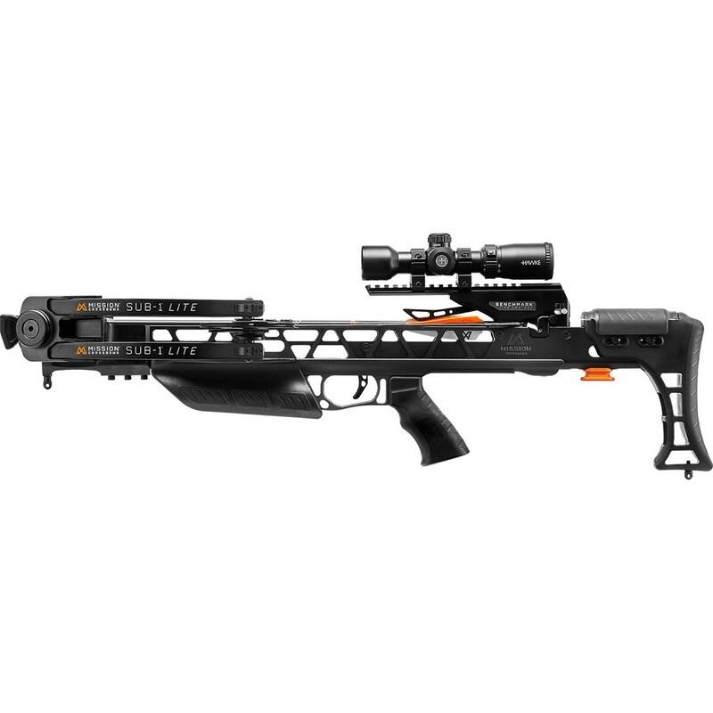 Mission Sub-1 Lite Crossbow Pro-kit Black