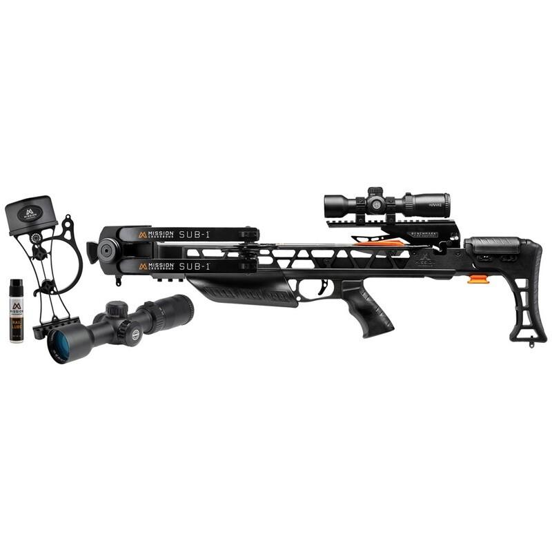 Mission Sub-1 Crossbow Pro-kit Black