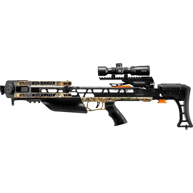 Mission Sub-1 Lite Crossbow Pro-kit Realtree Edge