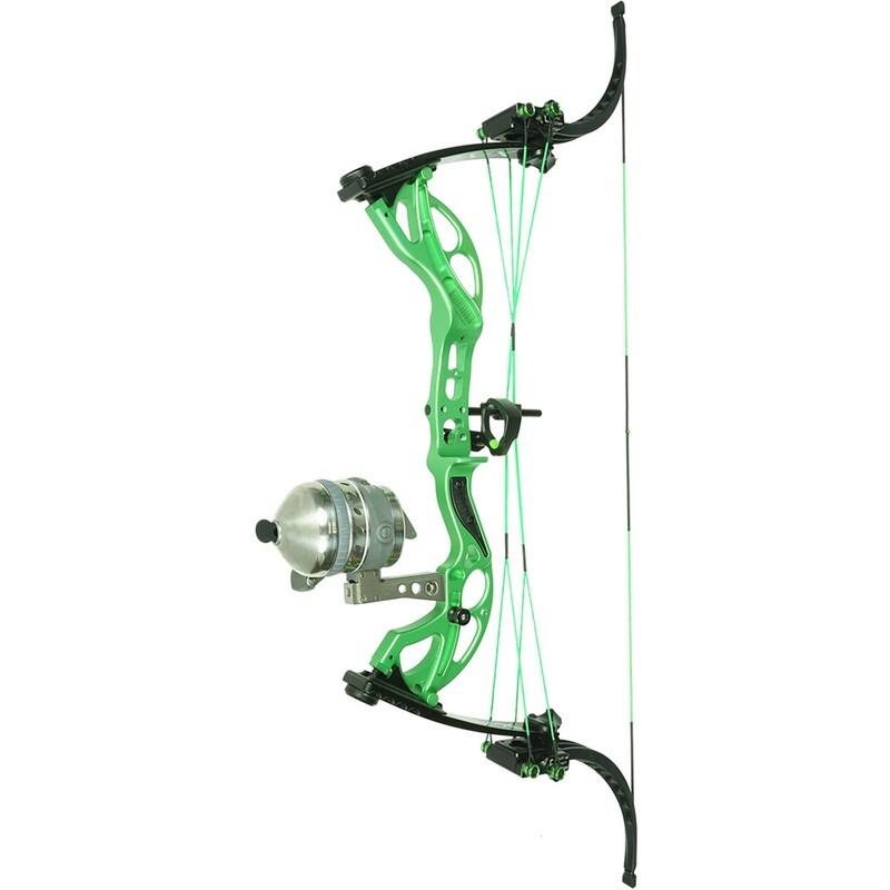 Muzzy Lv-x Bowfishing Bow Green 25-29 In. 25-50 Lb. Lh