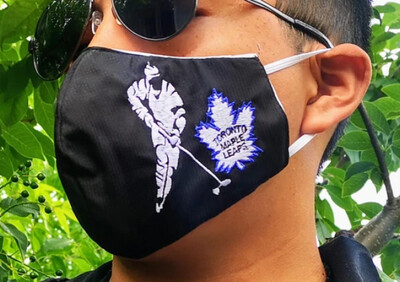 Toronto Maple Leafs Embroidered Mask