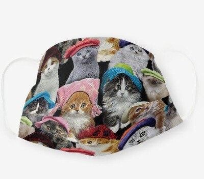 Cat in Hats mask