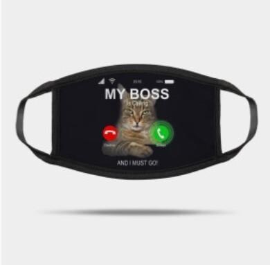 Boss cat mask