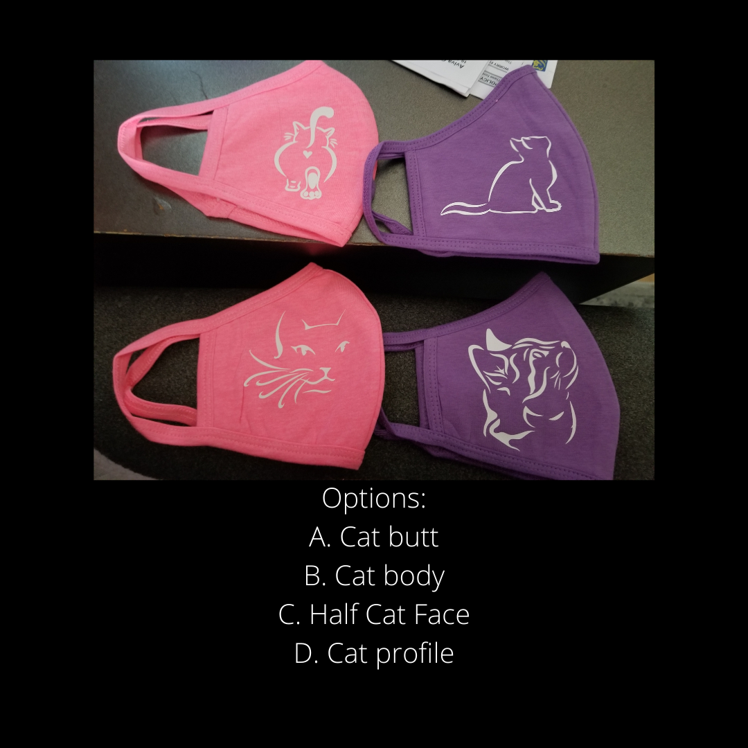 Custom Cat Masks