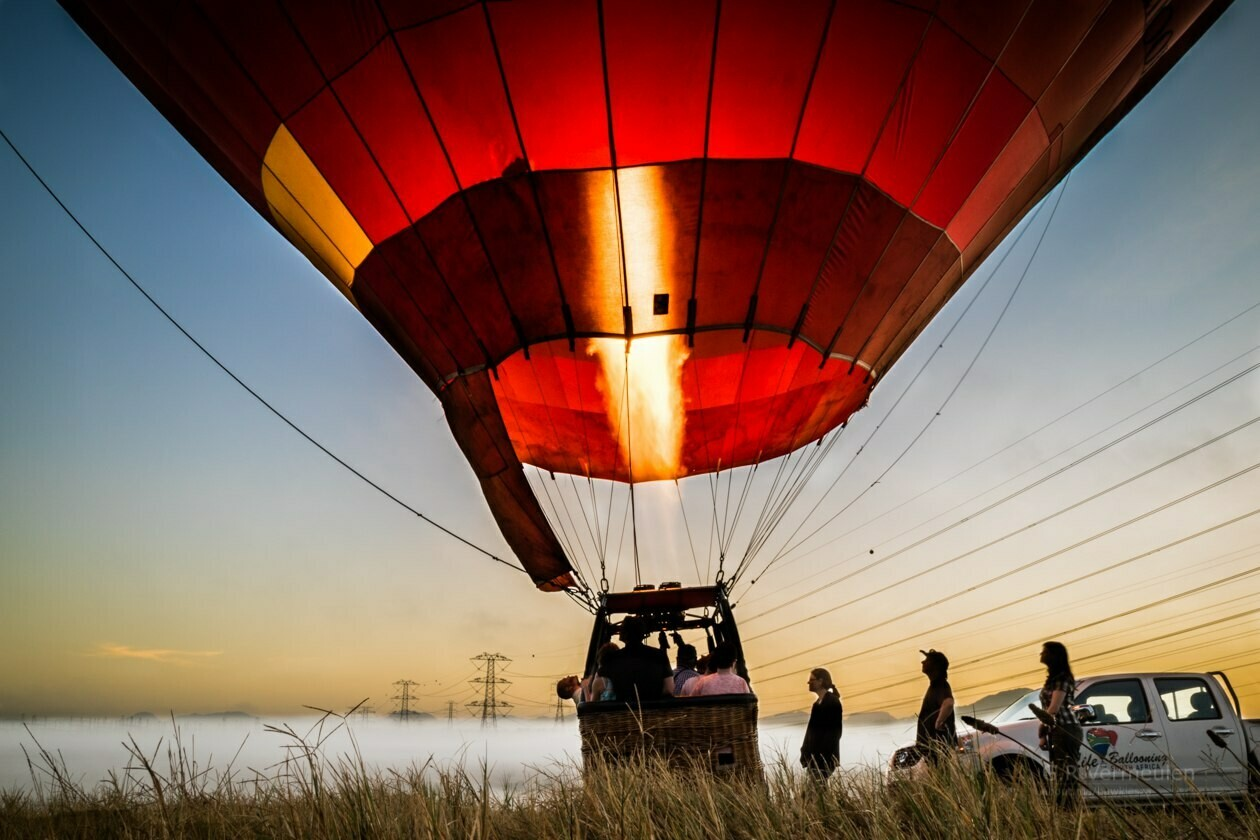 Hot Air Balloon Experience For Six