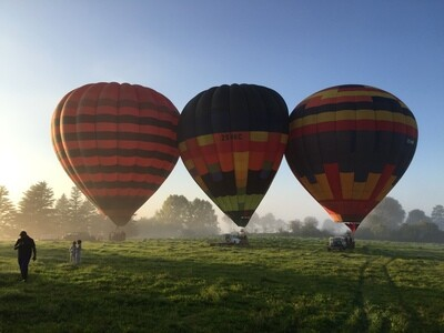 Hot Air Balloon Experience For Five