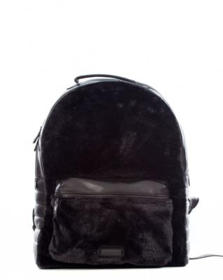 KK Faux Fur Backpack